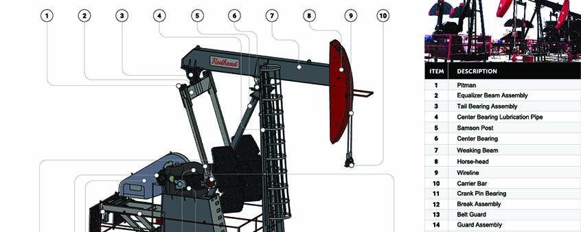 Conventional Pumpjack Image